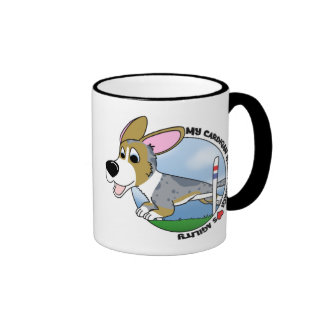 My Cardigan Welsh Corgi Loves Agility Mug