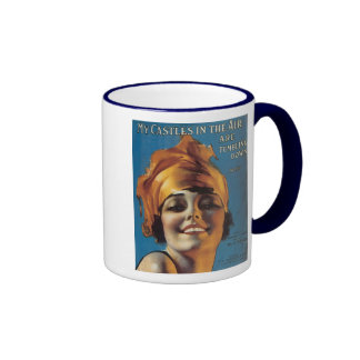My Castles in the Air Are Tumbling Down Songbook C Ringer Mug