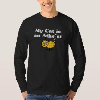 My Cat Is An Atheist Shirt