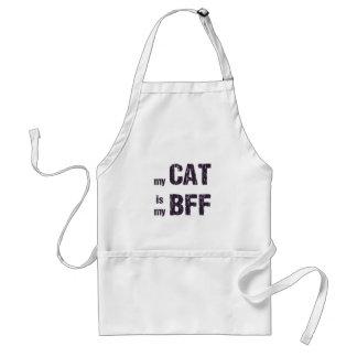 My Cat is My BFF Standard Apron