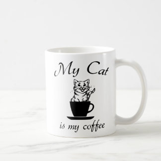 My cat is my coffee coffee mug