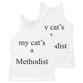 My Cat's a Methodist All-Over Print Singlet