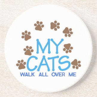 My Cats Walk Coaster