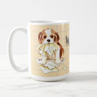 My Cavalier Ate My Homework Coffee Mug