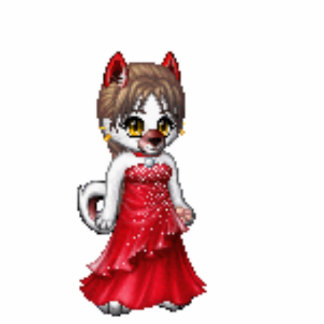 MY charecter on gaia Standing Photo Sculpture