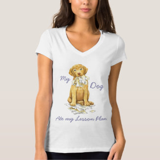 My Chessie Ate My Lesson Plan T-Shirt
