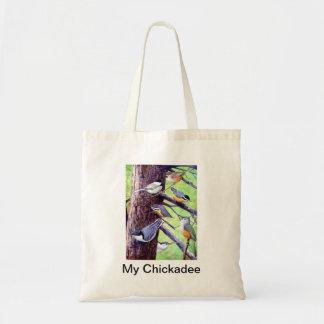 My Chickadee Tote Bag