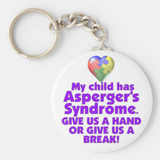 My Child Has Asperger's Keychains