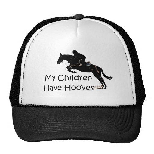 My Children Have Hooves Horse Mesh Hat