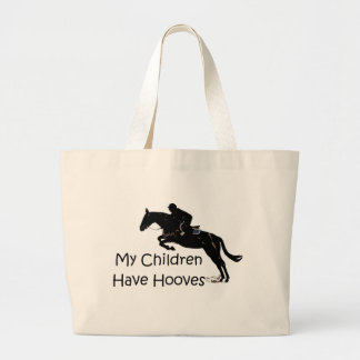 My Children Have Hooves Horse Tote Bag