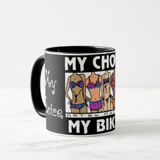 My Choice My Bikini Women's Rights MUG