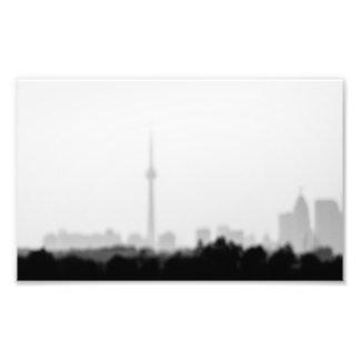 my city dream photo print