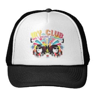 """My Club"" Black Trucker Trucker Hat"