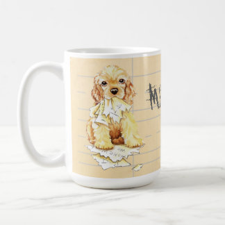 My Cocker Spaniel Ate my Homework Coffee Mug