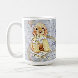 My Cocker Spaniel Ate my Lesson Plan Coffee Mug