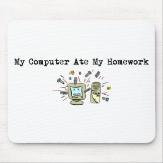 My Computer Ate My Homework Mousepads