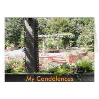 My Condolences Sympathy Card