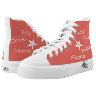 My Coral Mood Shoes Starfish Sneakers