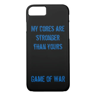 My cores are stronger than yours. Game of War Case