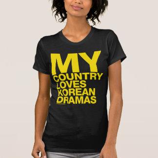 my country loves korean dramas shirt