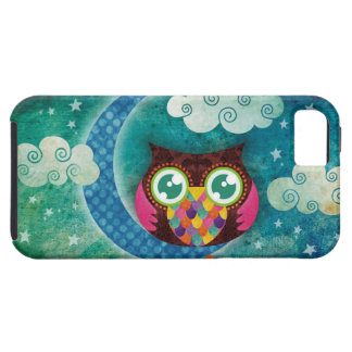 My Crescent Owl iPhone 5 Case-Mate Case