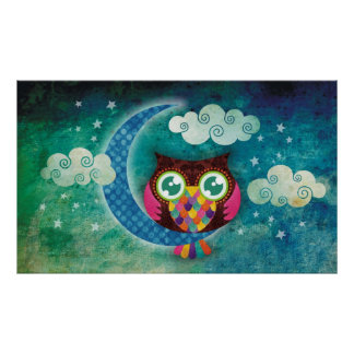 My Crescent Owl Poster