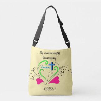 My Cross Is Empty Crossbody Bag