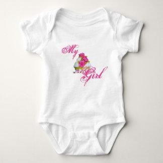 My Cu[ Cake Girl Baby Bodysuit