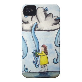"""""""My Cup Overflows"""" iPhone case"""