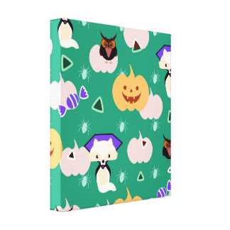 My cute Halloween Canvas Print