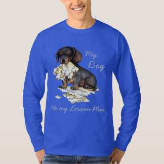 My Dachshund Ate My Lesson Plan T-Shirt