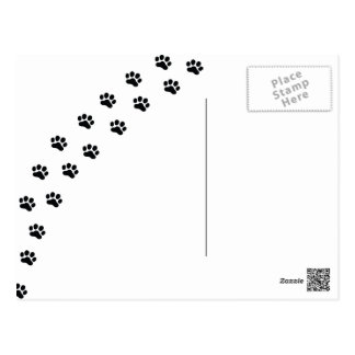 My Dachshund Walks All Over ME Postcard