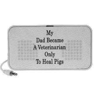 My Dad Became A Veterinarian Only To Heal Pigs Travelling Speaker