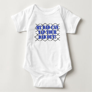 My Dad Can Tap Your Dad Out! MMA Design Baby Bodysuit