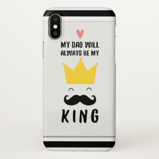 My Dad Custom iPhone X Glossy Case