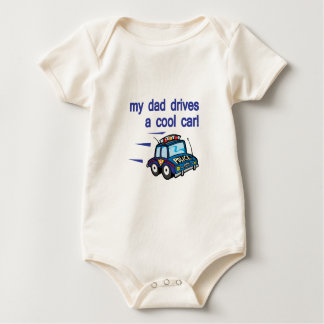 My Dad dirves a cool car Baby Bodysuits