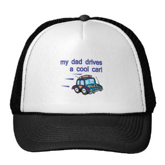 My Dad dirves a cool car Mesh Hats