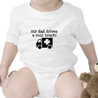 My Dad Drives a cool truck Tees