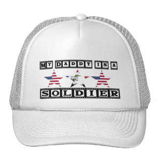 MY DAD IS A SOLDIER MESH HATS