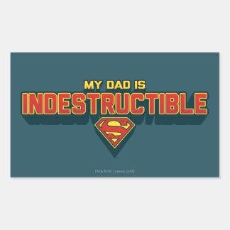 My Dad is Indestructible Sticker