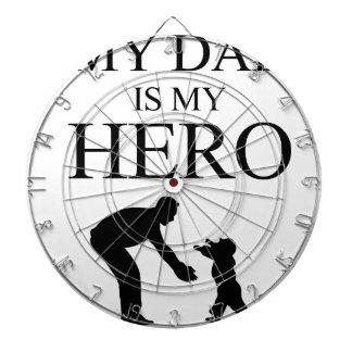 My Dad Is My Hero Dartboards