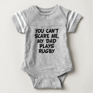My Dad Plays Rugby Baby Bodysuit