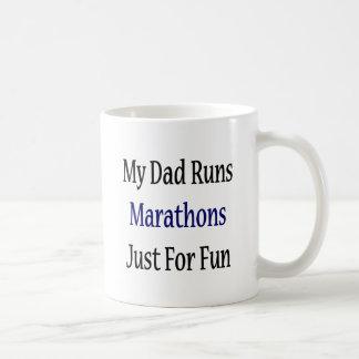 My Dad Runs Marathons Just For Fun Mug