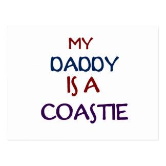 My Daddy Coastie Postcard