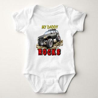 My_Daddy_Daddy_Rocks_ZJ Baby Bodysuit
