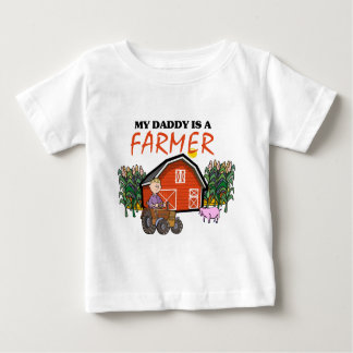My Daddy Is A Farmer Baby T-Shirt