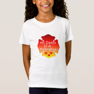 My Daddy Is A Firefighter T-Shirt
