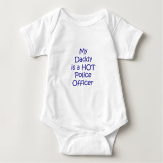 My daddy is a hot police officer infant creeper