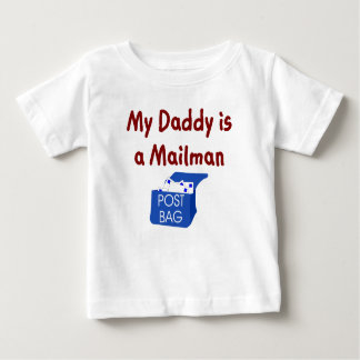 My Daddy is a Mailman baby t-shirt