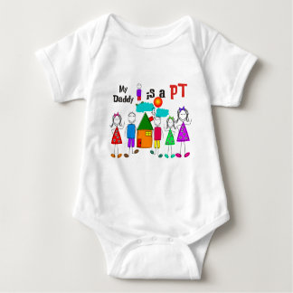 My Daddy is a Physical Therapist PT Baby Bodysuit